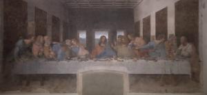 『最後の晩餐』レオナルド・ダ・ヴィンチ