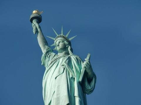 市民革命 the statue of Liberty