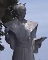 小松帯刀の像
