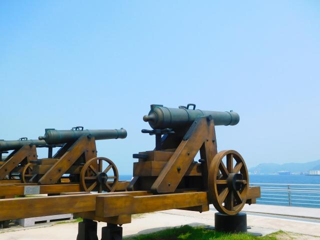 長州藩の砲台