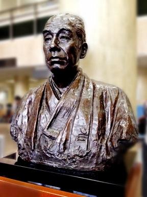 福沢諭吉の銅像