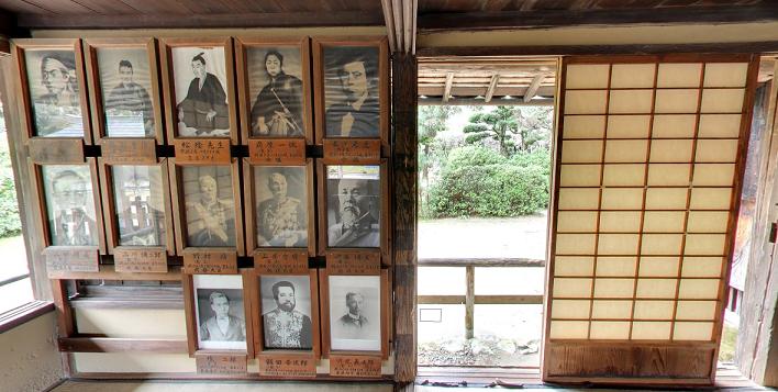 松下村塾で学ぶ人々