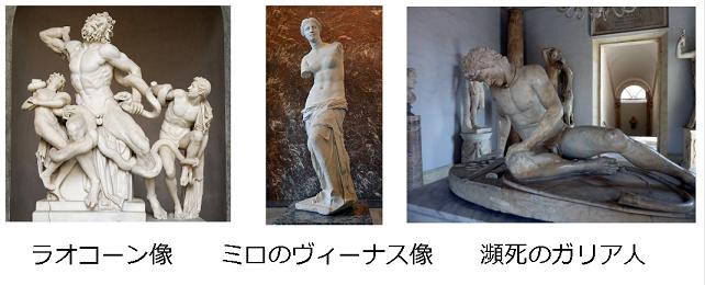 ヘレニズム文化の像