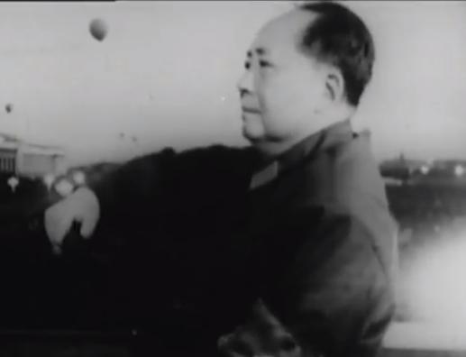 毛沢東の演説