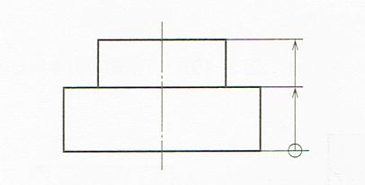 累進寸法の記入法(JIS B 0001 2010)