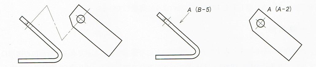 補助投影図矢示法2