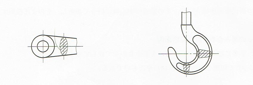 回転図示断面図3(JIS B 0001 2010)