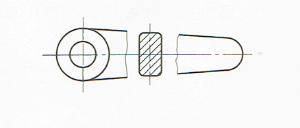 回転図示断面図(JIS B 00012010)
