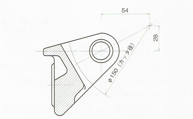 工具サイズの指示例(JIS B 0001 2010)