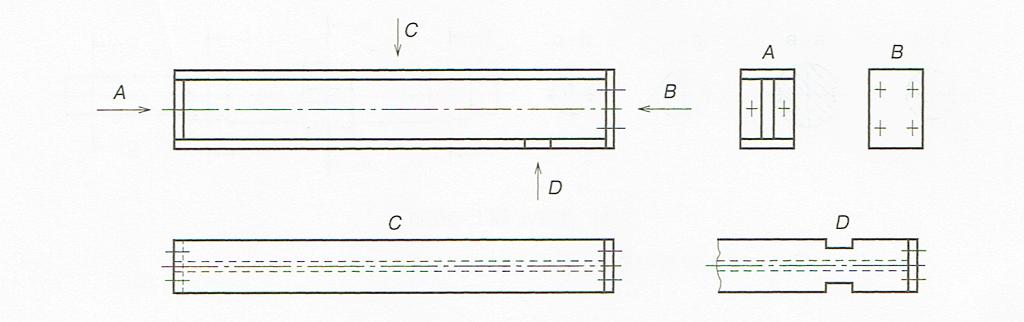 矢示法(JIS B 0001 2010)
