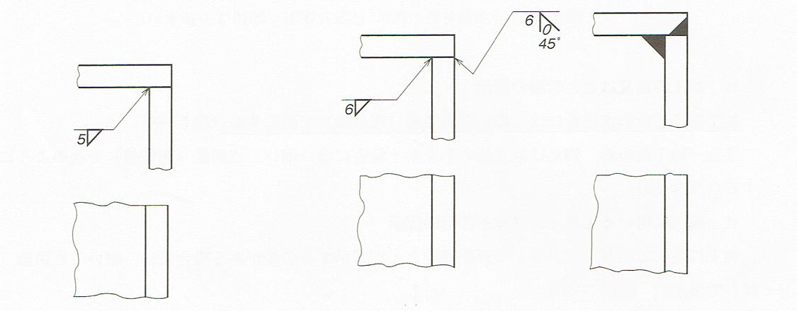溶接の図面の指示