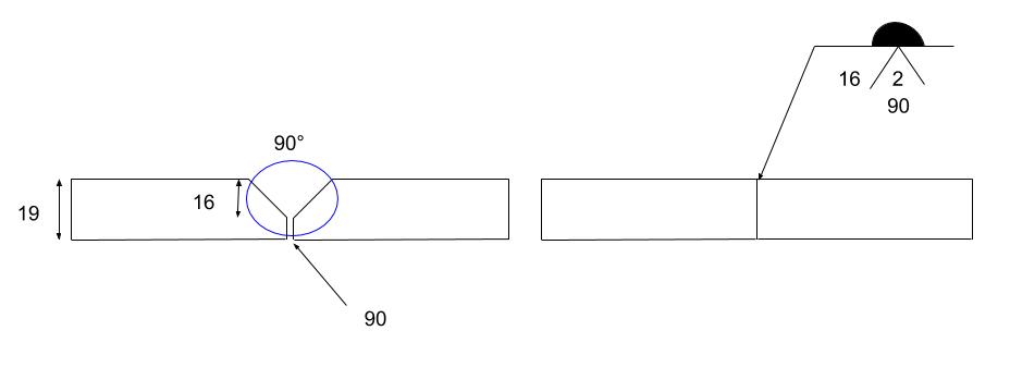 レ形開先溶接記号 (2)
