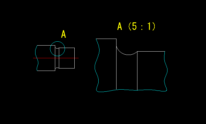 部分拡大図(JIS B 8114 1999)