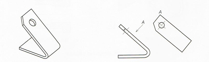 補助投影図矢示法