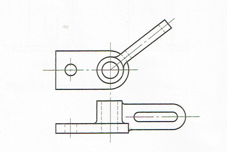 回転投影図