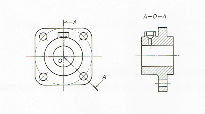 組み合わせによる断面図JIS B 0012010