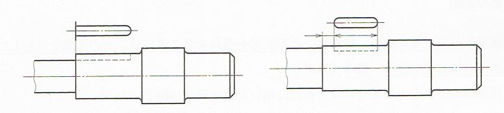 局部投影図
