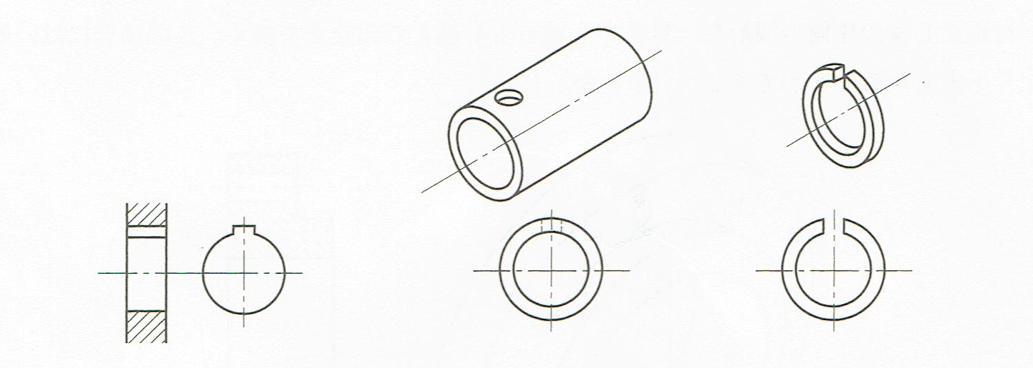 一部に特定な形がある場合(JIS B 0001 2010)