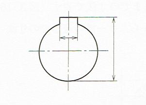 穴のキー講の表し方(JIS B 0001 2010)