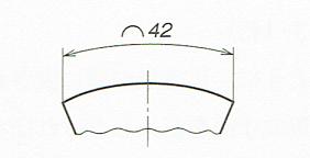 円弧の寸法記入法(JIS B 0001 2010)