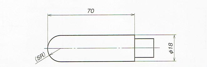 数値なしの記号の記入例(JISB00012010)